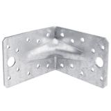 Winkelverbinder 70x70x2,5 mm mit Steg 1 Stück