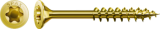 500 Stück 5x50 mm Spax Universalschrauben Yellox mit Teilgewinde, Senkkopf, T-STAR plus Antrieb (T20) und 4CUT